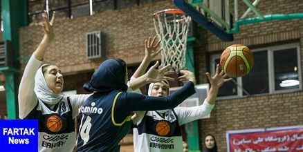 هفته دهم لیگ برتر بسکتبال بانوان رقابت دانشگاه آزاد و هیرو برای صدرنشینی