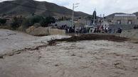 سیل برخی از راههای روستایی شیروان را با مرکز شهرستان قطع کرد