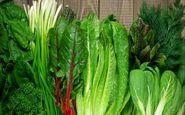 کاهش ابتلا به بیماری قلبی با مصرف سبزیجات با برگ سبز