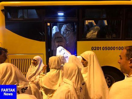 نخستین گروه از حجاج ایرانی از منا عازم مکه می شوند