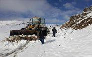 بازگشایی راه ارتباطی ۳۰ روستای دور افتاده در تکاب