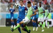 جام جهانی2018|نتیجه نیمه اول دیدار ایسلند-نیجریه