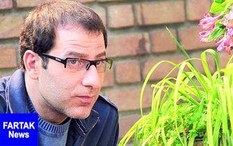 رامین ناصرنصیر در کنار گریمور چهره اش/ عکس