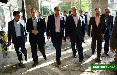 بازدید استاندار و مدیرکل میراثفرهنگی کرمانشاه از هتل کلینک ماد