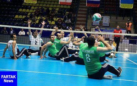 والیبال نشسته قهرمانی آسیا و اقیانوسیه - تایلند/ ایران راهی فینال شد