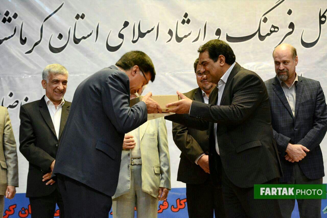 آیین تکریم و معارفه مدیر کل فرهنگ و ارشاد اسلامی کرمانشاه به روایت تصویر