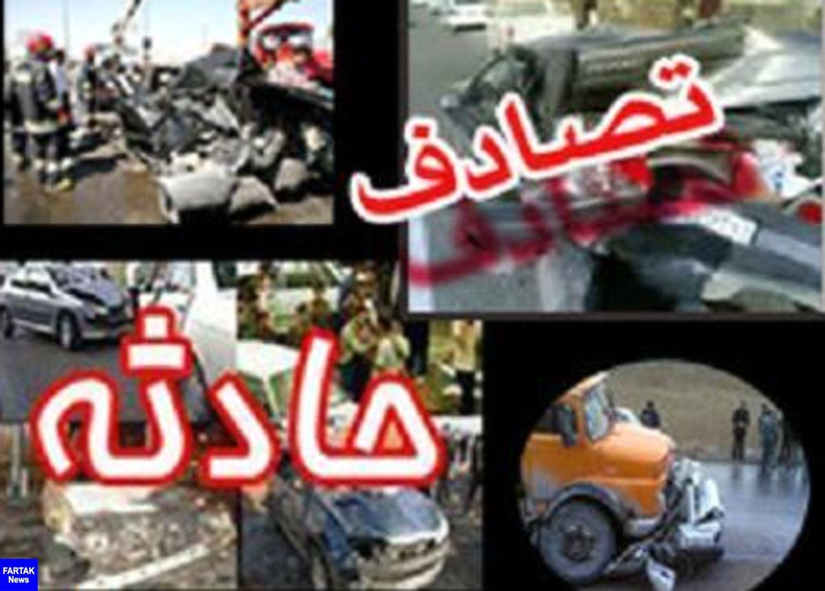 واژگونی پژو در محور ایرانشهر-نیکشهر با 2 کشته و یک مجروح