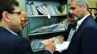 بازدید سرزده دادستان تهران از دادسرای ناحیه ۱۴ محلاتی