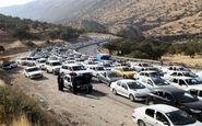 تراکم ترافیکی در محورهای غرب مازندران؛ محور کندوان همچنان مسدود است