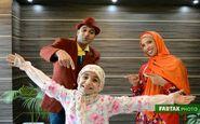 گزارش تصویری اجرای برنامه کودک و نوجوان توسط مهربانو، خاله مهسان و عمو احسان