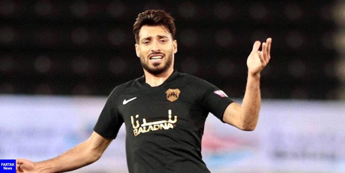 خلیل زاده جزو بازیکنان برتر هفته پانزدهم لیگ ستارگان قطر