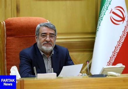 وزیر کشور: حل مشکل مرز سیرانبند بانه را از وزارت خارجه پیگیری میکنم