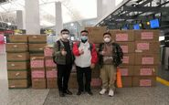 ارسال پنجاه هزار کیت تشخیص کرونا و دستگاههای اکسیژن ساز از چین به ایران