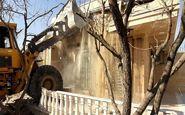 تخریب ساختمانهای غیرمجاز متهم فراری پرونده طبری