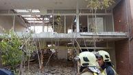 عکس 2 مرد له شده در آوار آپارتمان مرکز تهران + جزییات دردناک