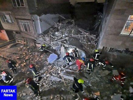 انفجار واحد مسکونی در تهران یک کشته و چهار مصدوم داشت