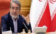 وزیر کشور: وضعیت خوزستان از امروز «ویژه» اعلام شد