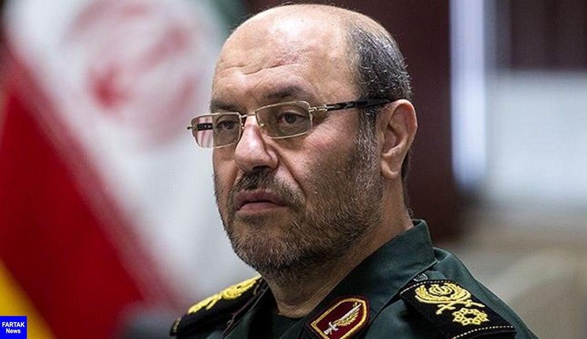 سردار دهقان: تمام پایگاههای نظامی آمریکا در منطقه زیر پوشش موشکهای ماست