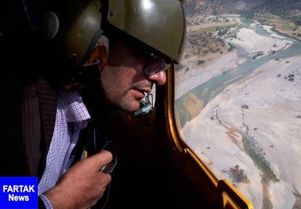 غواصان نیروی دریایی سپاه در «بشار»؛ جستوجو برای جسد جوان غرق شده ادامه دارد