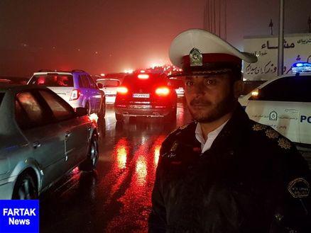 رییس پلیس راه شرق استان تهران: هراز دوطرفه شد