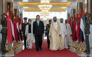 رئیس جمهور چین وارد امارات شد