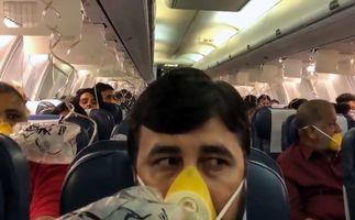 خونریزی مسافران به دلیل فراموش کاری خلبان!+فیلم