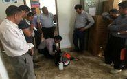 اهدای ۸ دستگاه دمنده به دهیاران بخش حمیل