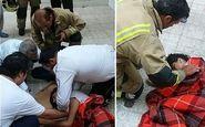 زنده ماندن ناباورانه دختر ۱۳ ساله تهرانی بعد از سقوط از طبقه چهارم + عکس