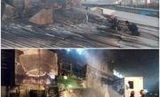 مهار حریق در کارخانه نورد آلومینیوم اراک