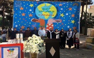 همایش نقاشی ویژه کودکان با موضوع روز جهانی صلح در پارک نوبهار به روایت تصویر