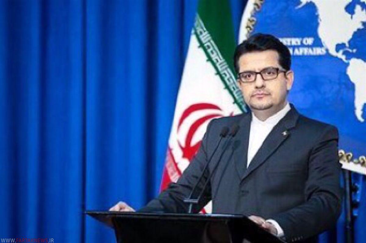 سخنگوی وزارت خارجه ایران، آمریکا را مسئول اقدامات تروریستی گروهک تندر دانست