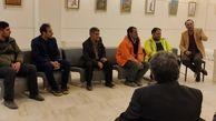 گزارش تصویری مراسم اختتامیه نمایشگاه گروهی کاریکاتور (محیط پاک با سبز قامتان نارنجی پوش)