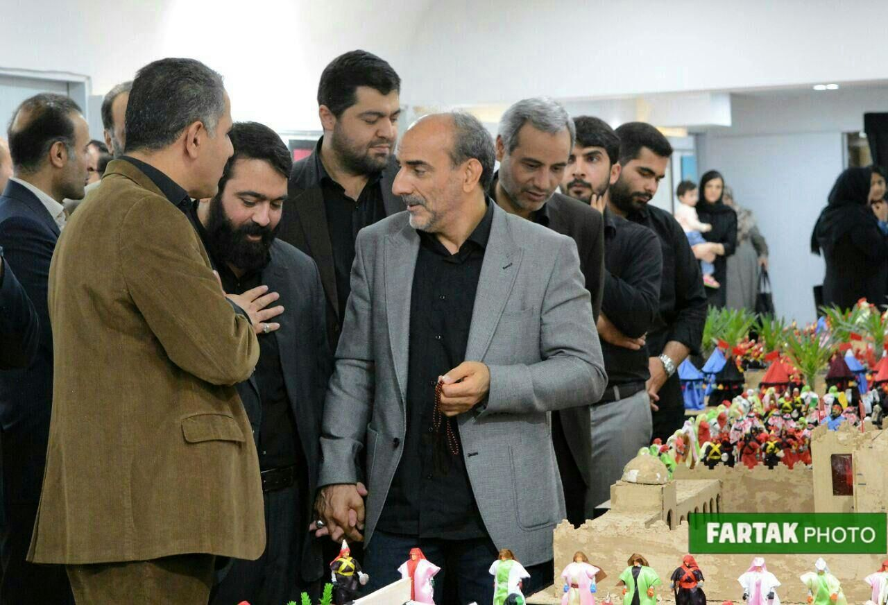 نمایشگاه روایت مینیاتوری از غدیر تا شام توسط شهرداری کرمانشاه