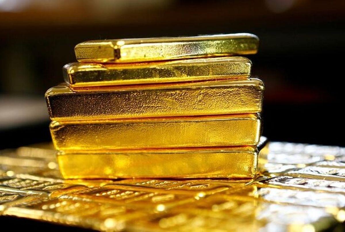 طلا روی مدار نزول