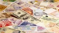 قیمت روز ارزهای دولتی ۹۷/۱۲/۱۲|نرخ ۴۷ ارز ثابت ماند