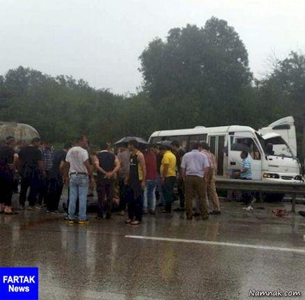 سقوط چند خودرو به دره فیروزکوه/ شماری از مسافران زیر بهمن جان سپردند