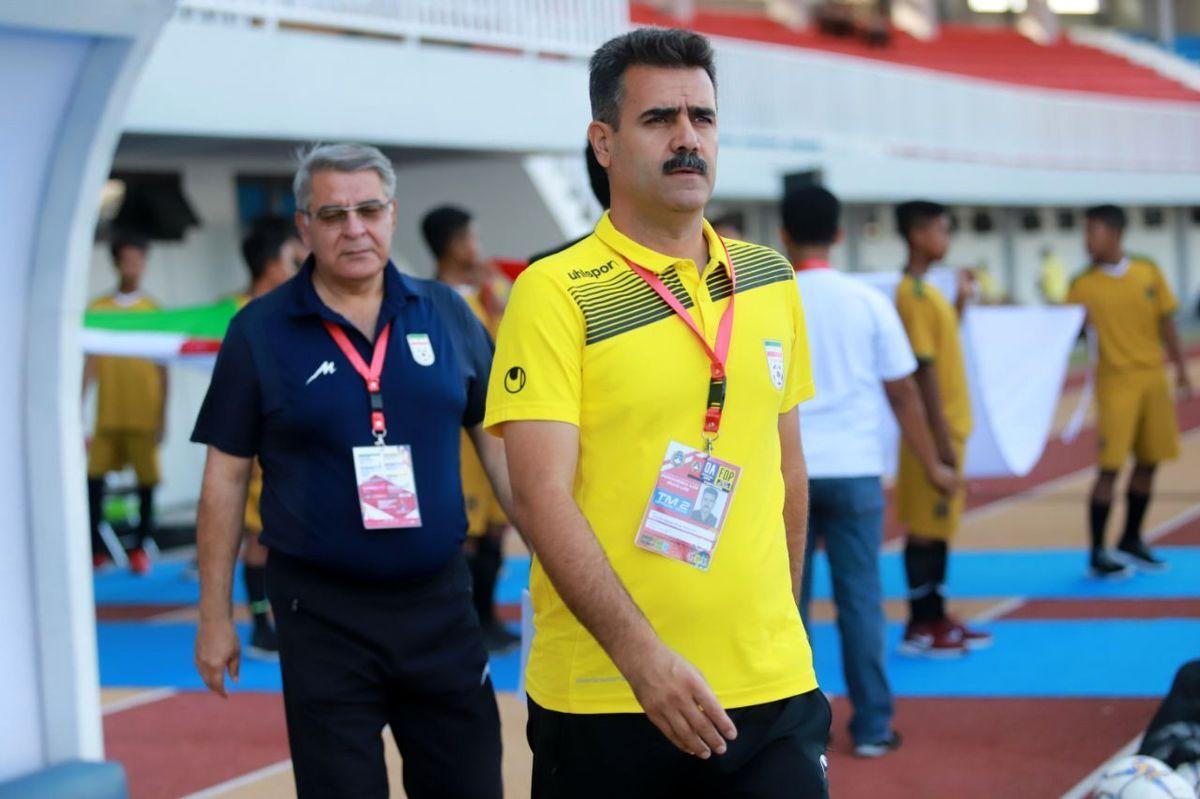 پورموسوی از هدایت تیم جوانان کنارهگیری کرد