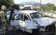 تصادف در لرستان با ۲ کشته و ۹ مصدوم