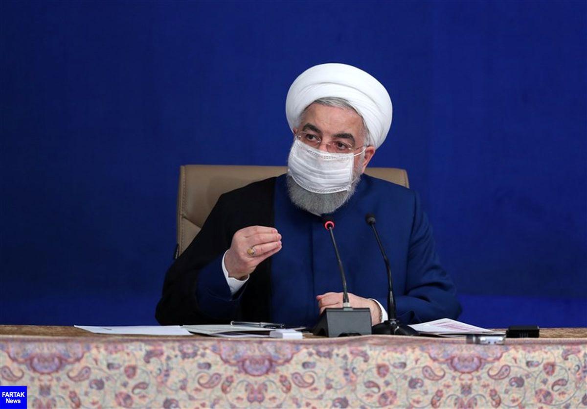 روحانی: دولت جدید آمریکا در رفتارهای غیر انسانی خود با سایر کشورها تجدید نظر کند