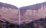 فیلمی از آبشار فصلی در روستای لما