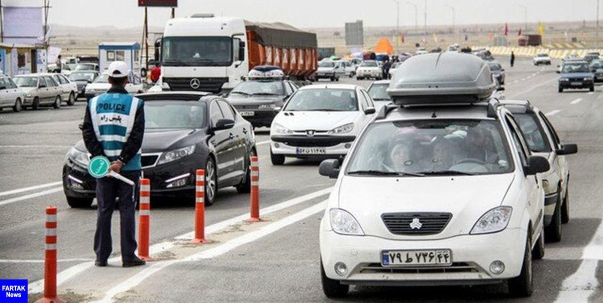 اعمال محدودیتهای سفر در جاده ها