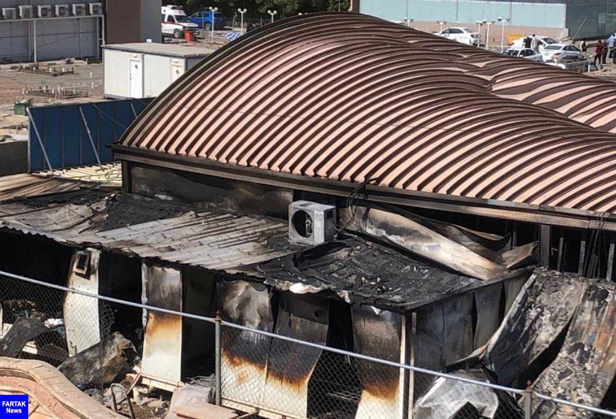 شمار قربانیان آتش سوزی بیمارستان الحسین (ع) عراق به ۱۲۴ تن رسید