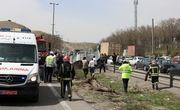 برخورد تریلر با پژو 4 نفر را در تبریز به کام مرگ فرستاد