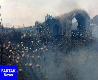 آتش سوزی در بافت تاریخی دهدشت
