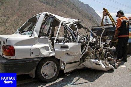 ۱۷ مصدوم در دو حادثه رانندگی در محورهای مواصلاتی قوچان