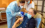 مسن ترین فردی که واکسن کرونا زد