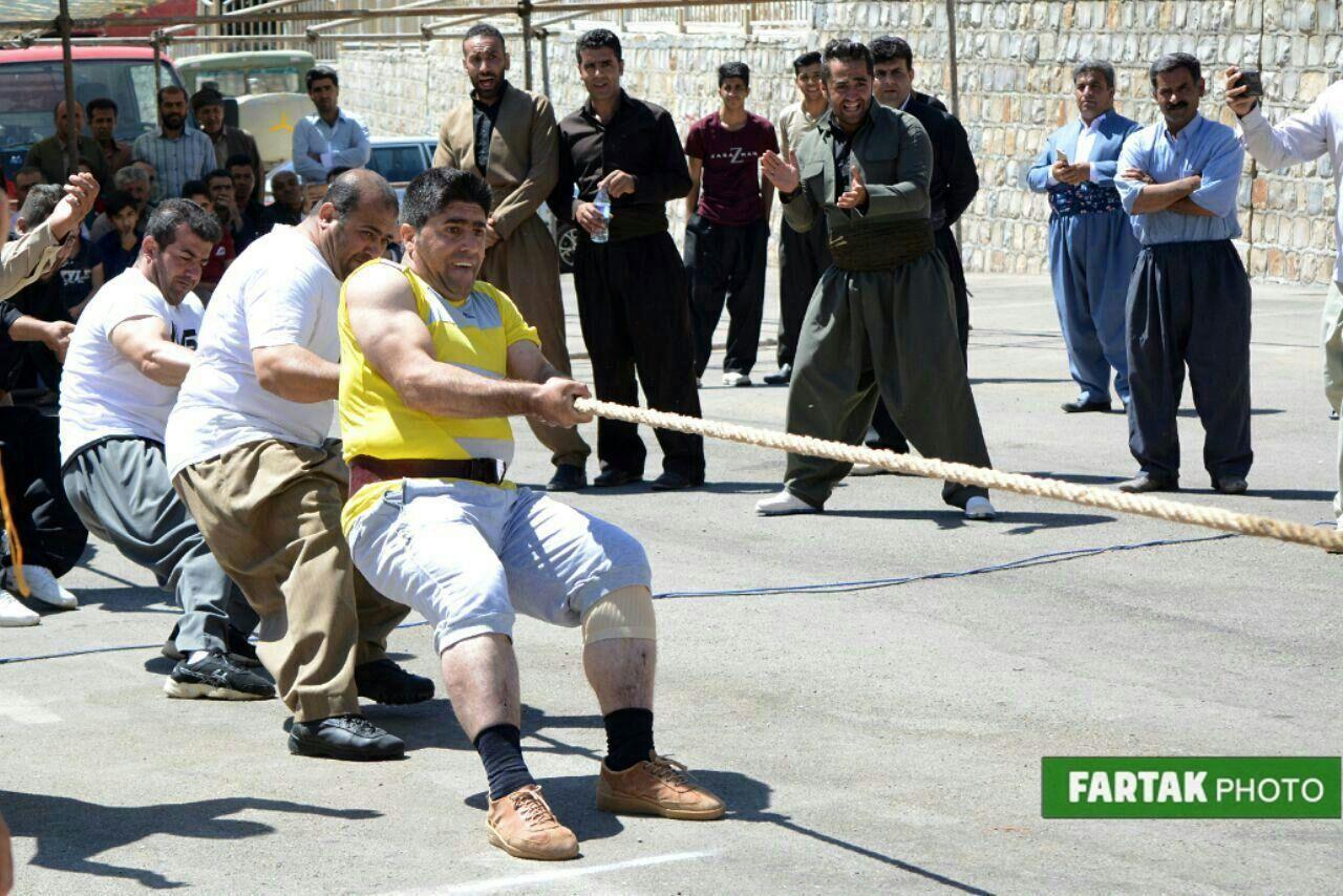 بازیهای بومی محلی روانسر