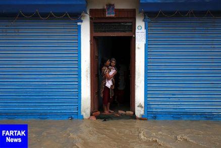 بارش شدید باران در نپال ۱۵ قربانی گرفت