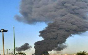تصویر جدید از آتش سوزی در باقر شهر/فیلم