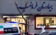 انتقال بیمار مشکوک به کرونا به بیمارستان فرمانیه تهران
